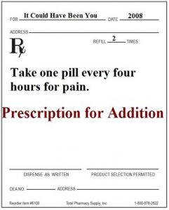 78eb25ced658 I took the prescription and filled it, but I never followed the directions  to take them daily, never mind three a day.